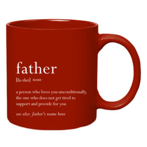 Father Meaning Mug Thumbnail
