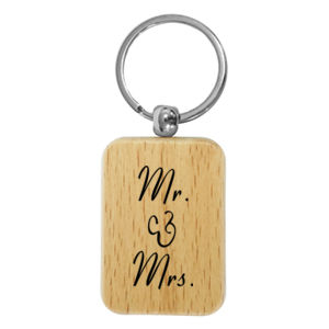 Mr & Mrs Keychain Thumbnail