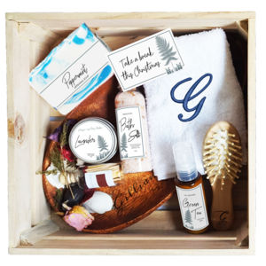 Simple Green Christmas Pamper Gift Set Thumbnail