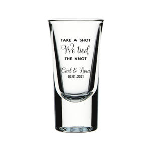 Take a Shot Glass Wedding Favor Thumbnail