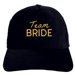 Team Bride Printed Baseball Cap Thumbnail