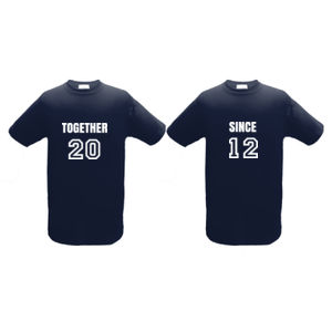 Together Since Couple Shirt Thumbnail